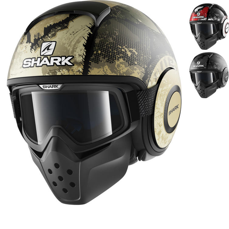 Shark Drak Evok Open Face Motorcycle Helmet