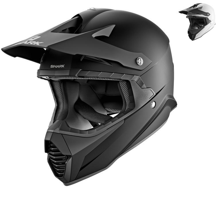 Shark Varial Blank Motocross Helmet