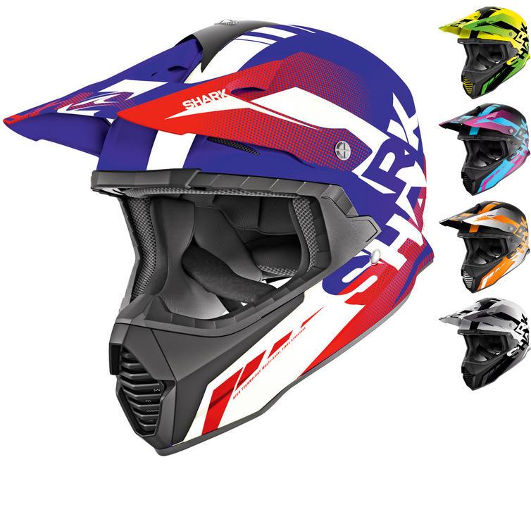 Shark Varial Anger Motocross Helmet