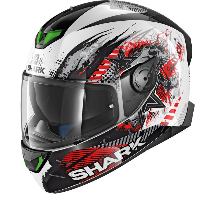 Shark Skwal 2 Switch Rider 1 Motorcycle Helmet