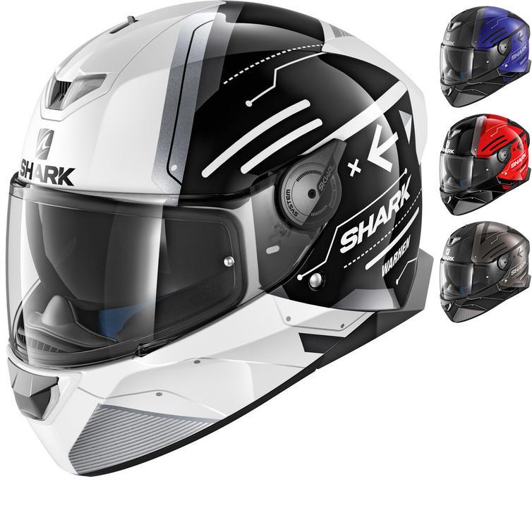 Shark Skwal 2 Warhen Motorcycle Helmet