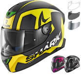 Shark Skwal 2 Trion Motorcycle Helmet & Visor