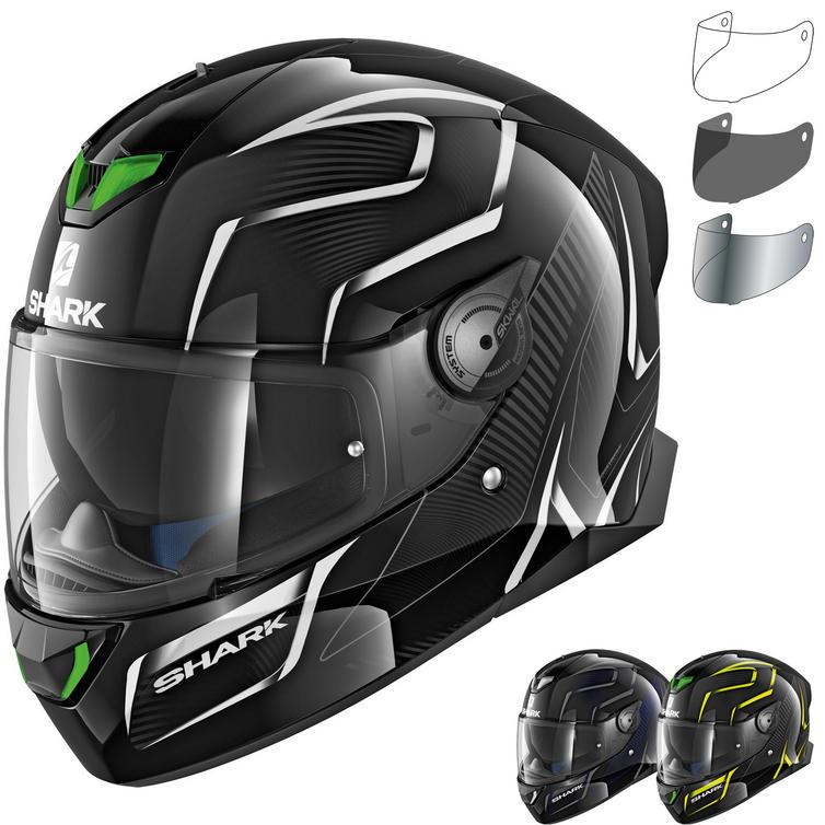 Shark Skwal 2 Flynn Motorcycle Helmet & Visor