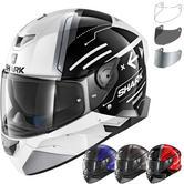 Shark Skwal 2 Warhen Motorcycle Helmet & Visor
