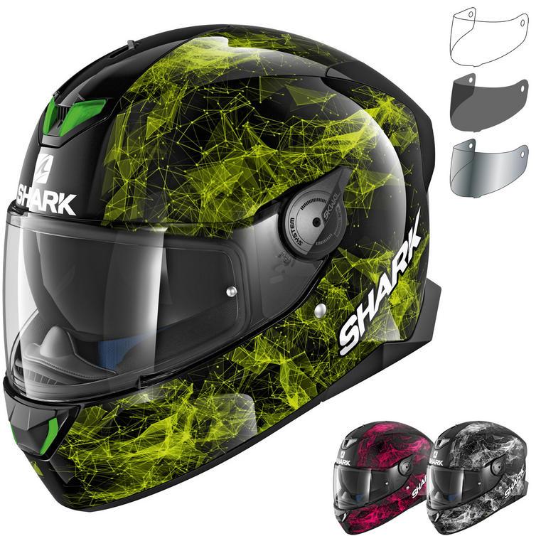 Shark Skwal 2 Hiya Motorcycle Helmet & Visor