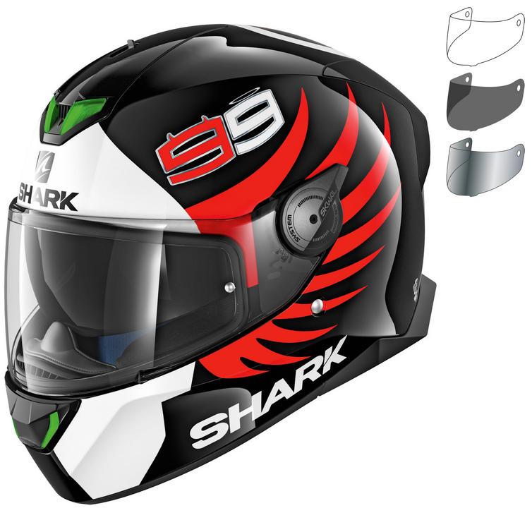 Shark Skwal 2 Lorenzo Motorcycle Helmet & Visor