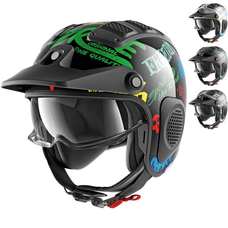 Shark X-Drak Freestyle Open Face Motorcycle Helmet