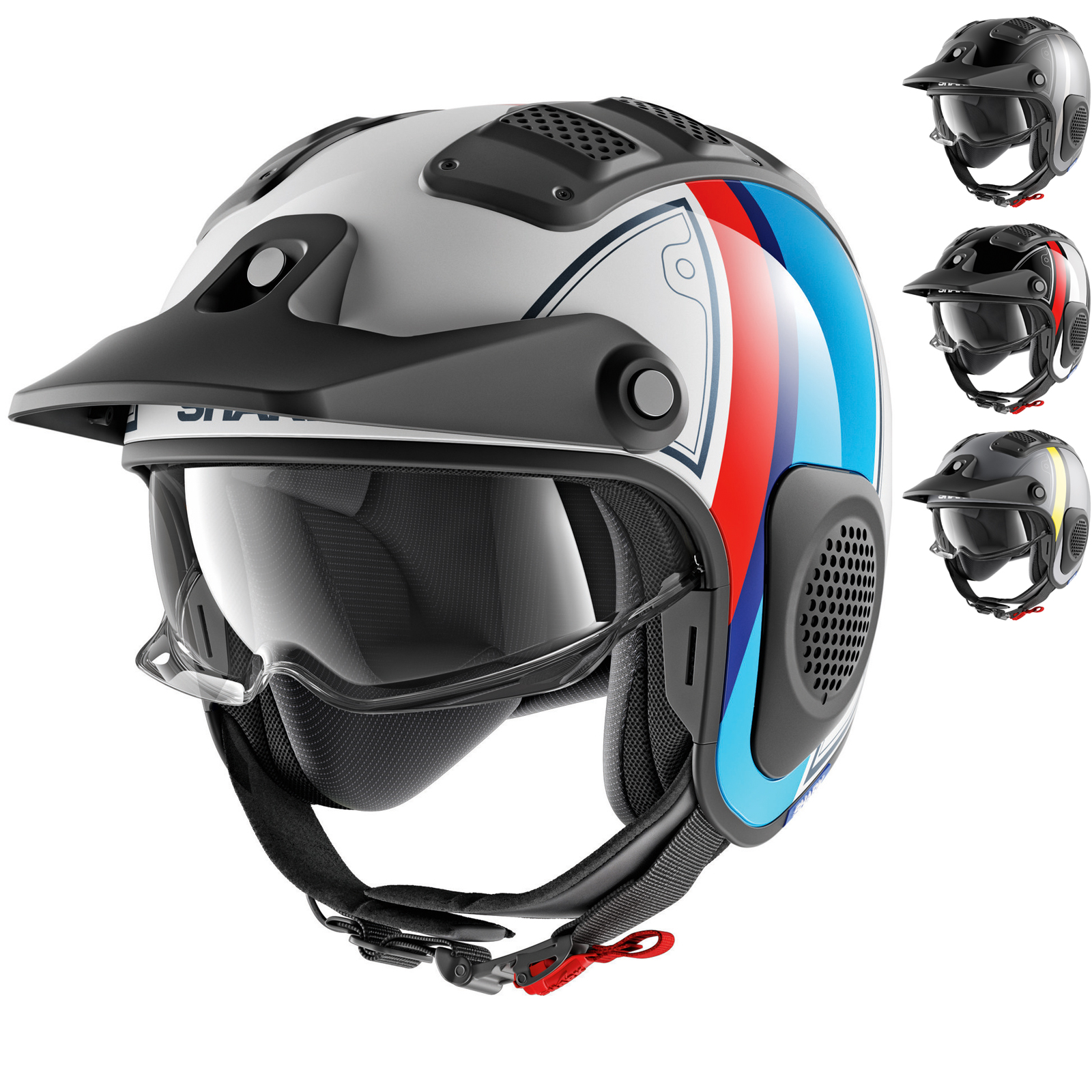 Shark X Drak Terrence Open Face Motorcycle Helmet New Arrivals