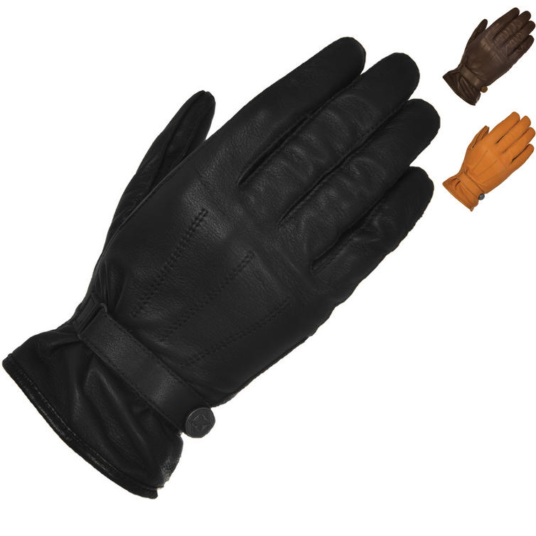 Oxford Holton Leather Motorcycle Gloves