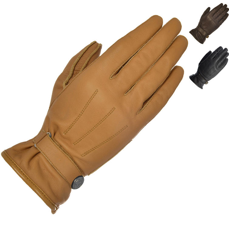 Oxford Radley Ladies Leather Motorcycle Gloves