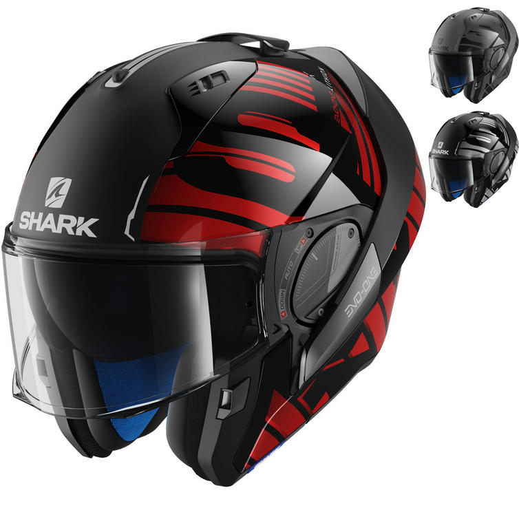 Shark Evo-One 2 Lithion Flip Front Motorcycle Helmet