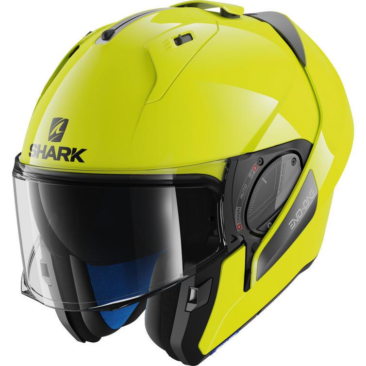 Shark Evo-One 2 Hi-Visibility Flip Front Motorcycle Helmet