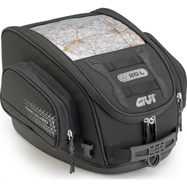 475a7164e23 Givi TanklockED Tank Bag 20L (UT809) - New Arrivals - Ghostbikes.com