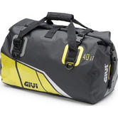 Givi Easy-T Range Waterproof Cylinder Seat Bag 40L Black Yellow (EA115BY)