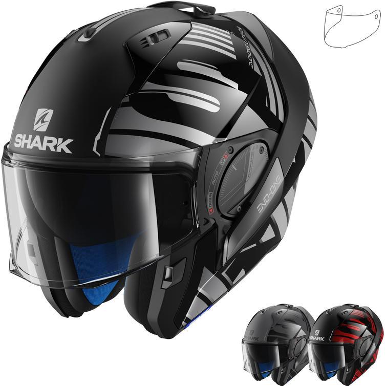 Shark Evo-One 2 Lithion Flip Front Motorcycle Helmet & Visor