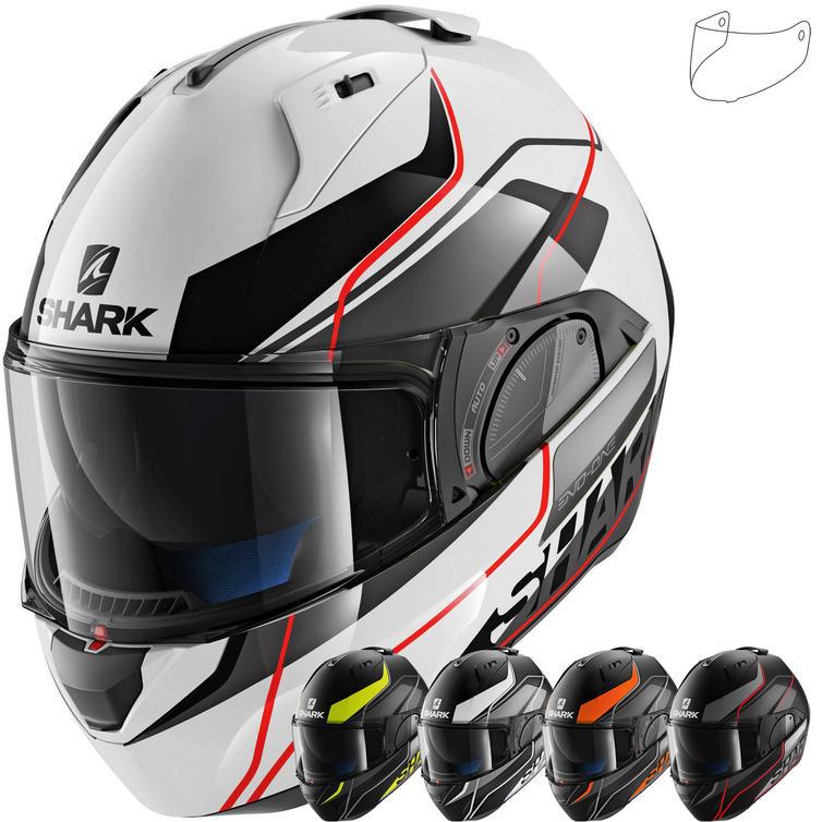 Shark Evo-One 2 Krono Flip Front Motorcycle Helmet & Visor