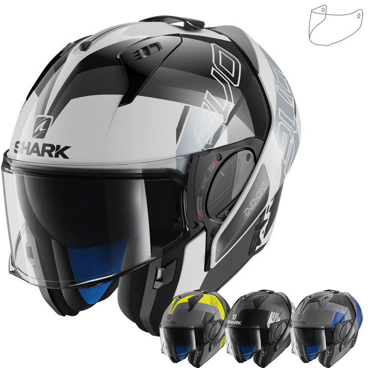 Shark Evo-One 2 Slasher Flip Front Motorcycle Helmet & Visor