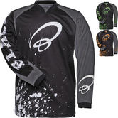 Black MX Splat Motocross Jersey