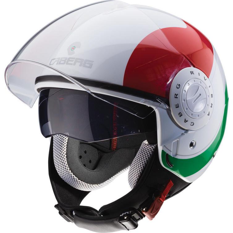 Caberg Riviera V3 Sway Italia Open Face Motorcycle Helmet