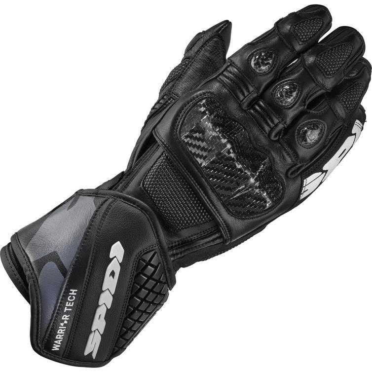 Spidi Carbo 5 Leather Motorcycle Gloves