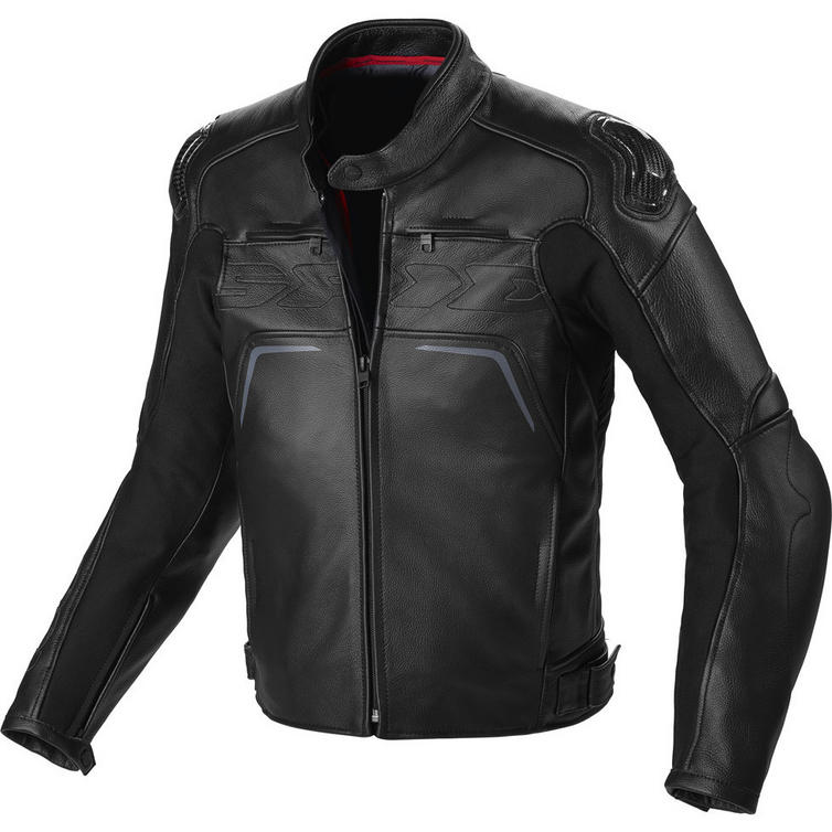 Spidi Carbo Rider CE Leather Motorcycle Jacket