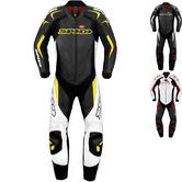 Spidi Supersport Wind Pro 1-Piece Leather Motorcycle Suit