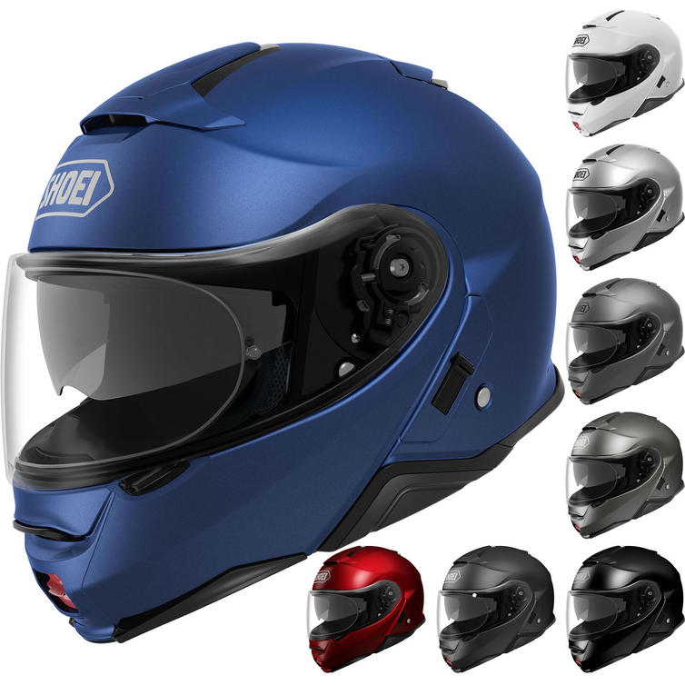 Shoei Neotec 2 Plain Flip Front Motorcycle Helmet