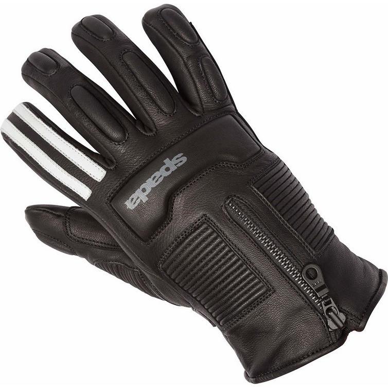 Spada Rigger Monoblakk Ladies Leather Motorcycle Gloves