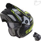Caberg Tourmax Marathon Flip Front Motorcycle Helmet & Visor