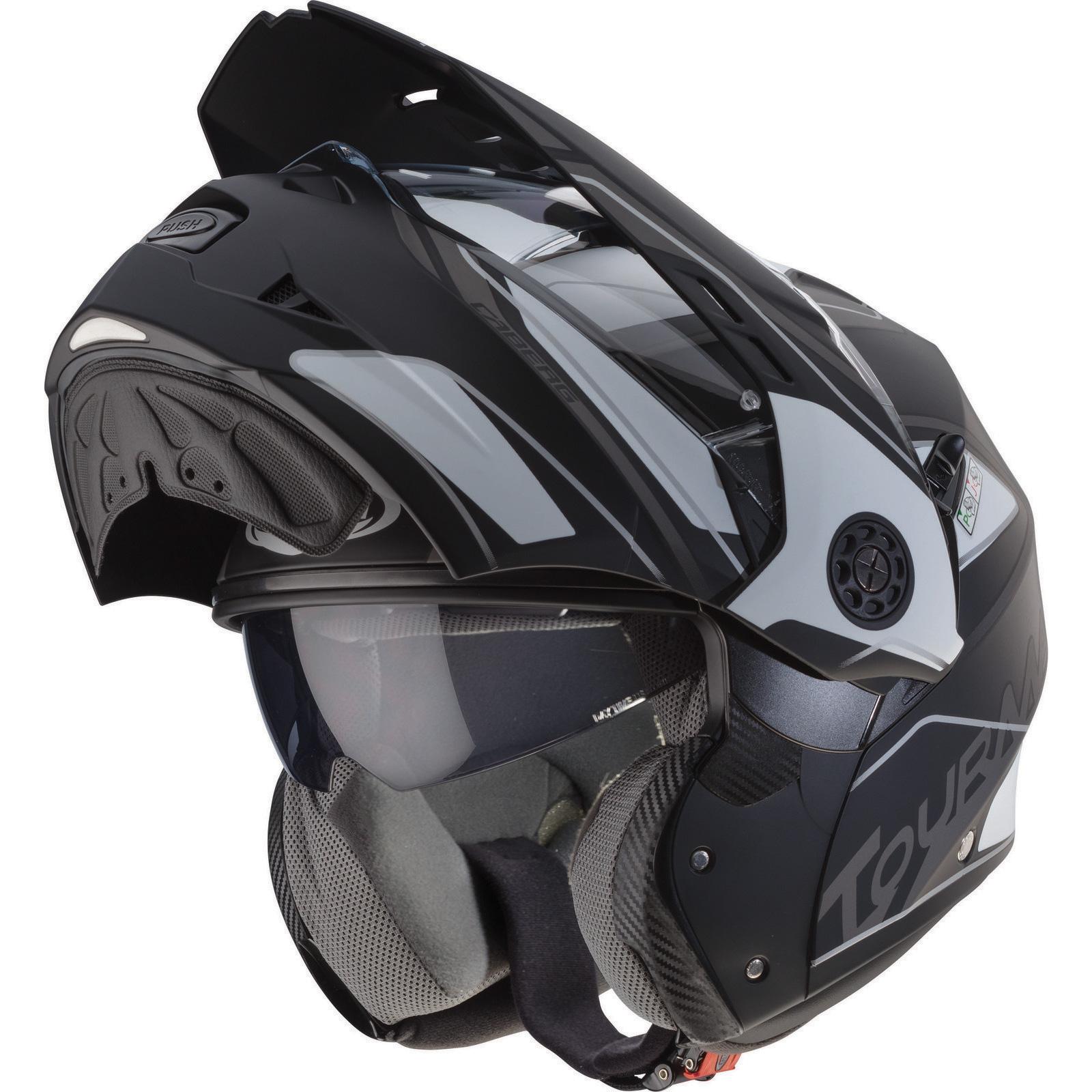 Caberg-Tourmax-Marathon-Flip-Front-Motorcycle-Motorbike-Helmet-amp-Visor-Crash