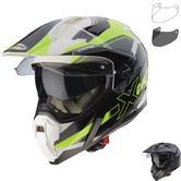 Caberg X-Trace Spark Motorcycle Helmet & Visor