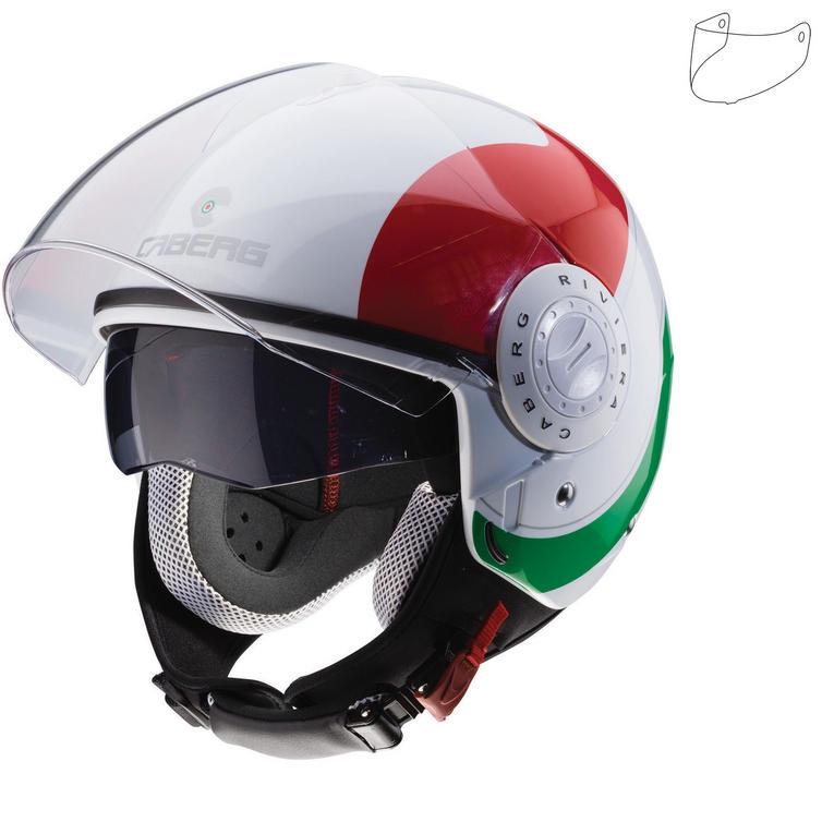 Caberg Riviera V3 Sway Italia Open Face Motorcycle Helmet & Visor