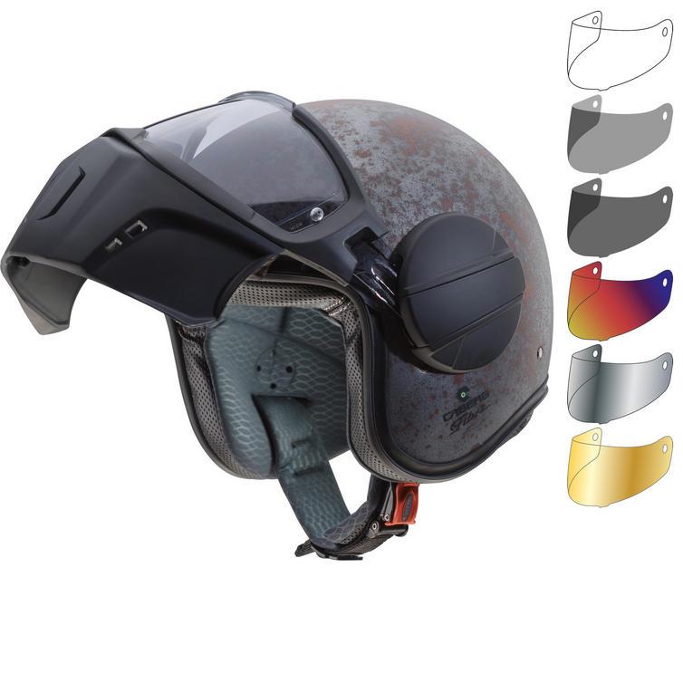 Caberg Ghost Rusty Open Face Motorcycle Helmet & Visor