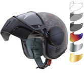 Caberg Ghost Rusty Open Face Motorcycle Helmet & Visor