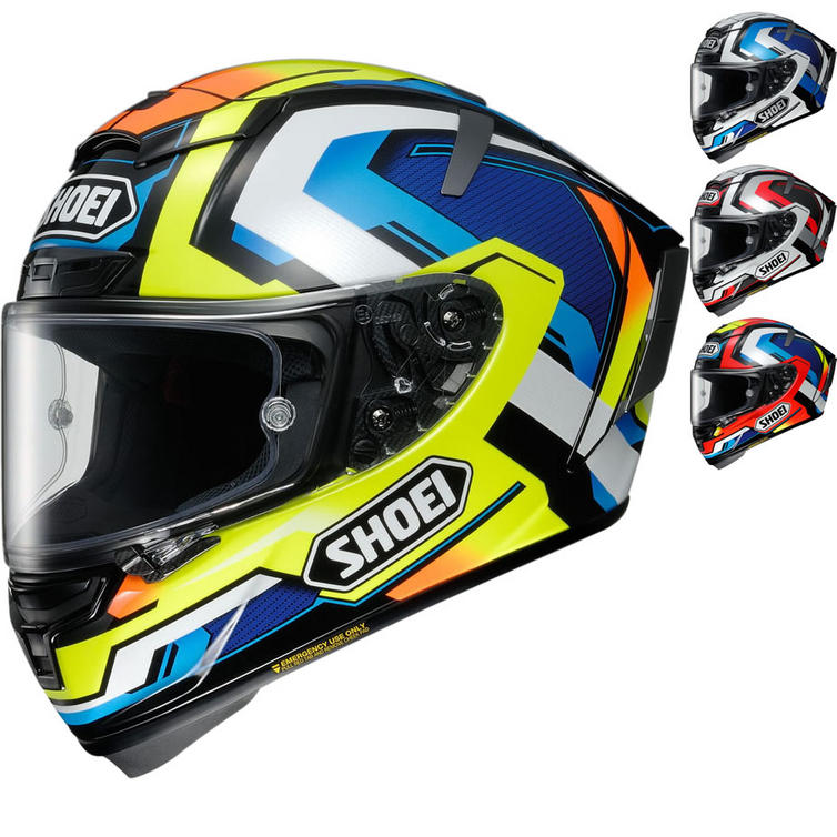 Shoei X-Spirit 3 Brink Motorcycle Helmet