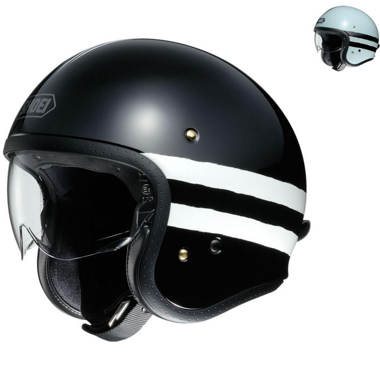 Shoei J.O Sequel Open Face Motorcycle Helmet