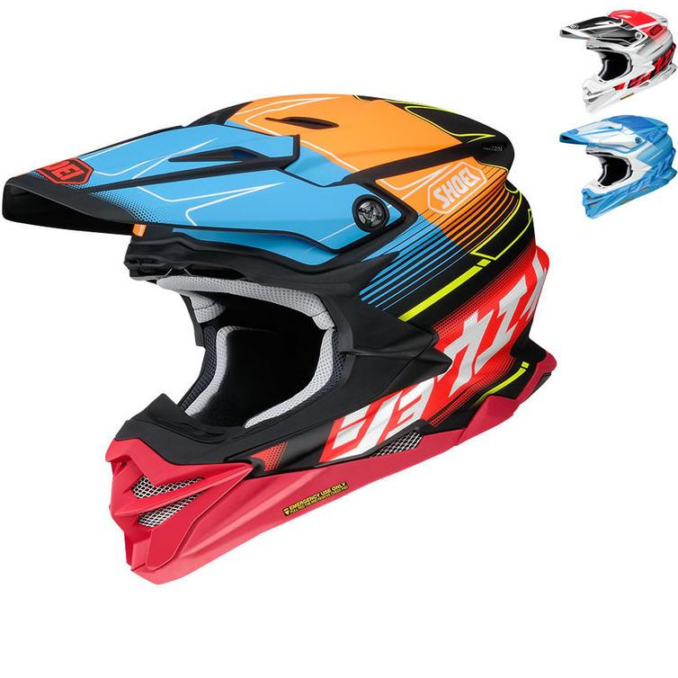 Shoei VFX-WR Zinger Motocross Helmet