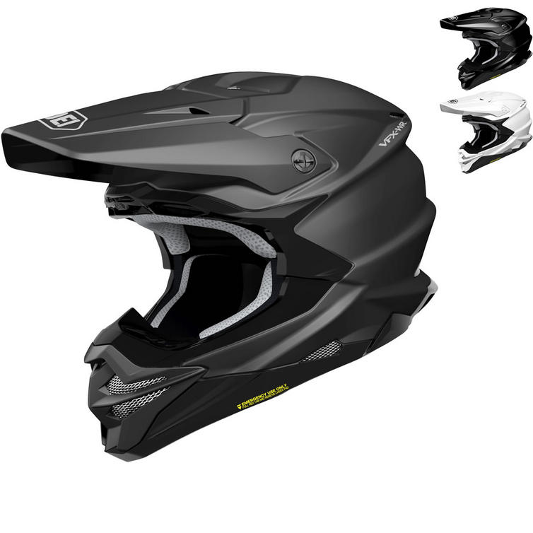 Shoei VFX-WR Plain Motocross Helmet