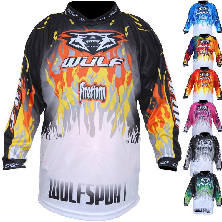 Wulf Firestorm Cub Motocross Jersey