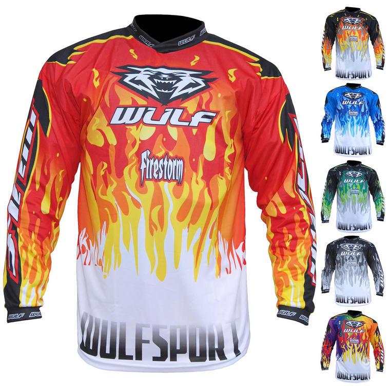 Wulf Firestorm Adult Motocross Jersey