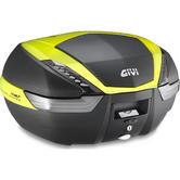 Givi V47 Tech Monokey Topcase 47L Fluo Yellow (V47NNTFL)