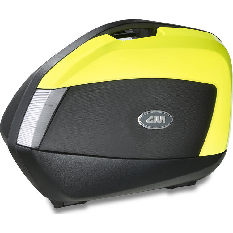 Givi V35 Tech Monokey Side Panniers 34L Fluo Yellow (V35NTFL)