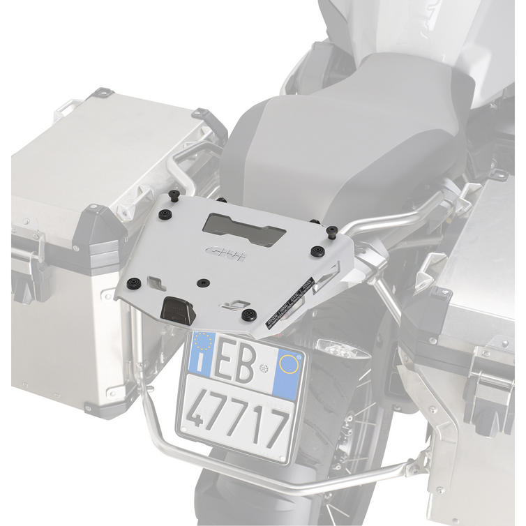 Givi Aluminium Monokey Topcase Rack for BMW R1200GS Adventure 14-18 (SRA5112)