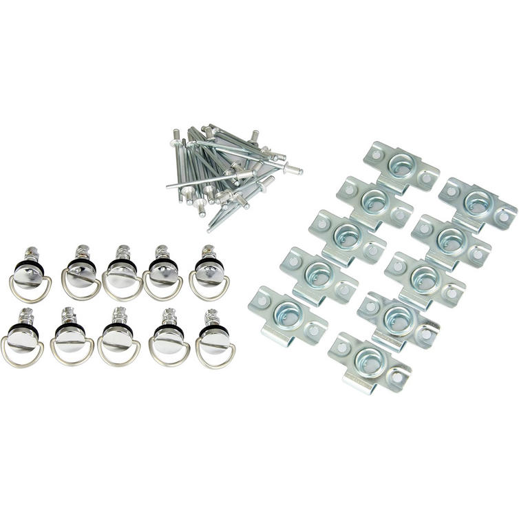 Bike It Quick Release Fairing Fasteners Rivet Type 17mm 10Pcs