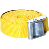 Load Hugger Tie down 2 Piece Micro-Strap Yellow 2.5m x 25mm