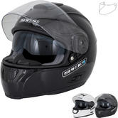 Spada SP16 Plain Motorcycle Helmet & Visor