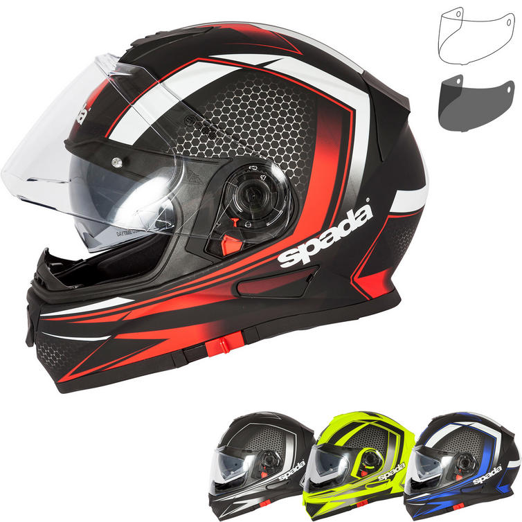 Spada RP One Renegade Motorcycle Helmet & Visor