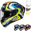 Shoei X-Spirit 3 Brink Motorcycle Helmet & Visor Thumbnail 1