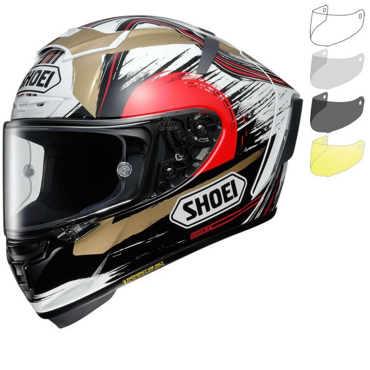 Shoei X-Spirit 3 Marquez II Motegi Motorcycle Helmet & Visor