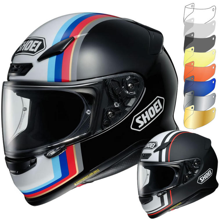 Shoei NXR Recounter Motorcycle Helmet & Visor